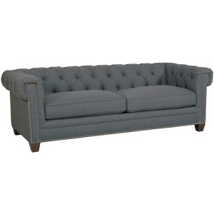 Linosa Charcoal Sofa | Hooker Furniture