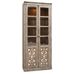 Two Door Bunching Curio | Hooker Furniture