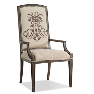 Insignia Arm Chair | Hooker Furniture