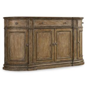 Solana Three-Drawer Four-Door Buffet | Hooker Furniture