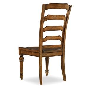 Tynecastle Ladderback Side Chair   Hooker Furniture