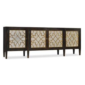 Four-Door Mirrored Console | Hooker Furniture