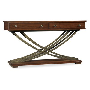 Palisade Cross-Base Console Table