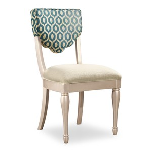 Linosa Linen Desk Chair