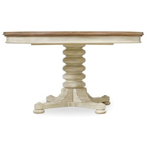 Sunset Point Pedestal Dining Table | Hooker Furniture