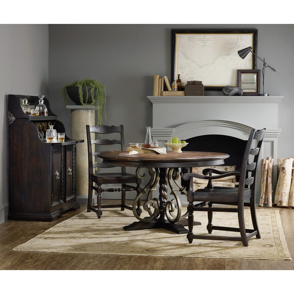 Ladderback Arm Chair | Hooker Furniture
