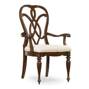 Splatback Arm Chair | Hooker Furniture