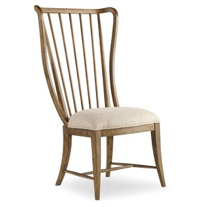 Tall Spindle Side Chair | Hooker Furniture