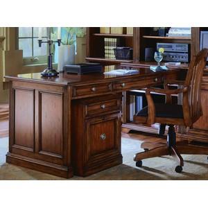 Brookhaven Peninsula Desk | Hooker Furniture