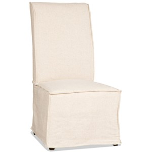 Fully Upholstered Armless Dining Chair