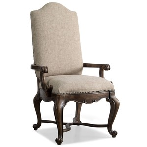 Rhapsody Upholstered Arm Chair | Hooker Furniture