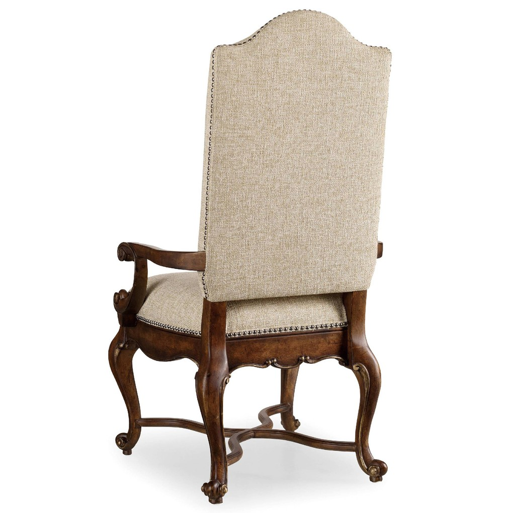 Adagio Upholstered Arm Chair | Hooker Furniture