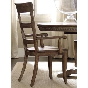 Sorella Ladderback Arm Chair | Hooker Furniture