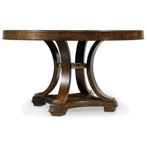 Skyline Round Dining Table | Hooker Furniture