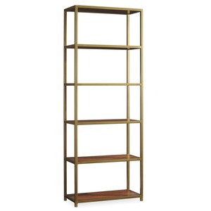 Studio 7H Tall Metal Bookcase | Hooker Furniture