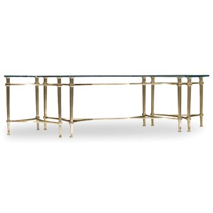 Highland Park Rectangle Cocktail Table | Hooker Furniture