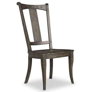 Vintage West Splatback Side Chair | Hooker Furniture