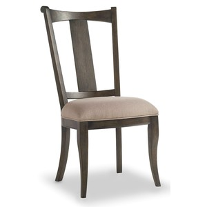 Vintage West Upholstered Splatback Side Chair | Hooker Furniture