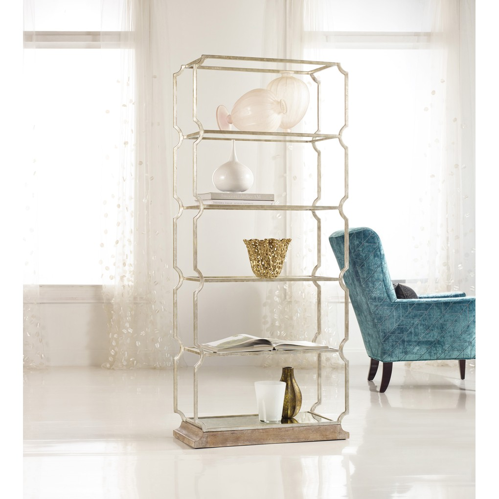 Carter Metal Etagere | Hooker Furniture