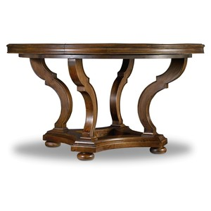 Archivist Round Dining Table | Hooker Furniture