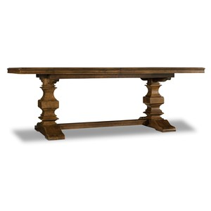 Archivist Trestle Table | Hooker Furniture