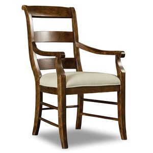 Archivist Ladderback Arm Chair | Hooker Furniture