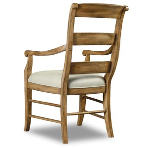 Archivist Ladderback Arm Chair   Hooker Furniture