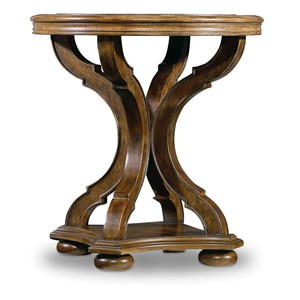 Archivist Round End Table | Hooker Furniture