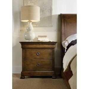 Archivist Three-Drawer Nightstand | Hooker Furniture