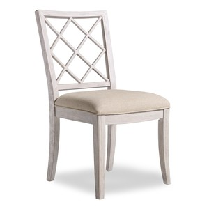 Sunset Point Upholstered X-Back Side Chair | Hooker Furniture