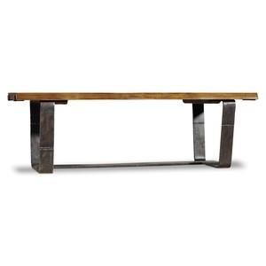 Live Edge Rectangular Cocktail Table | Hooker Furniture