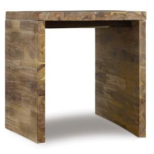 Live Edge Rectangle End Table