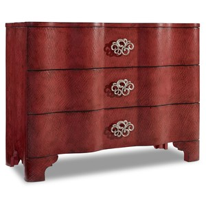 Saffron Crackle Chest | Hooker Furniture
