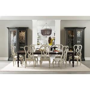 Auberose Leg Dining Table | Hooker Furniture