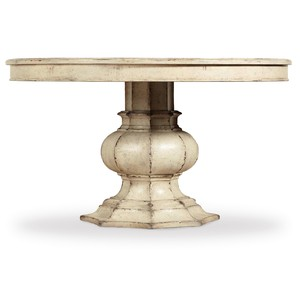 "Auberose 52"" Round Pedestal Table 