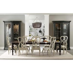 Auberose Splatback Arm Chair | Hooker Furniture
