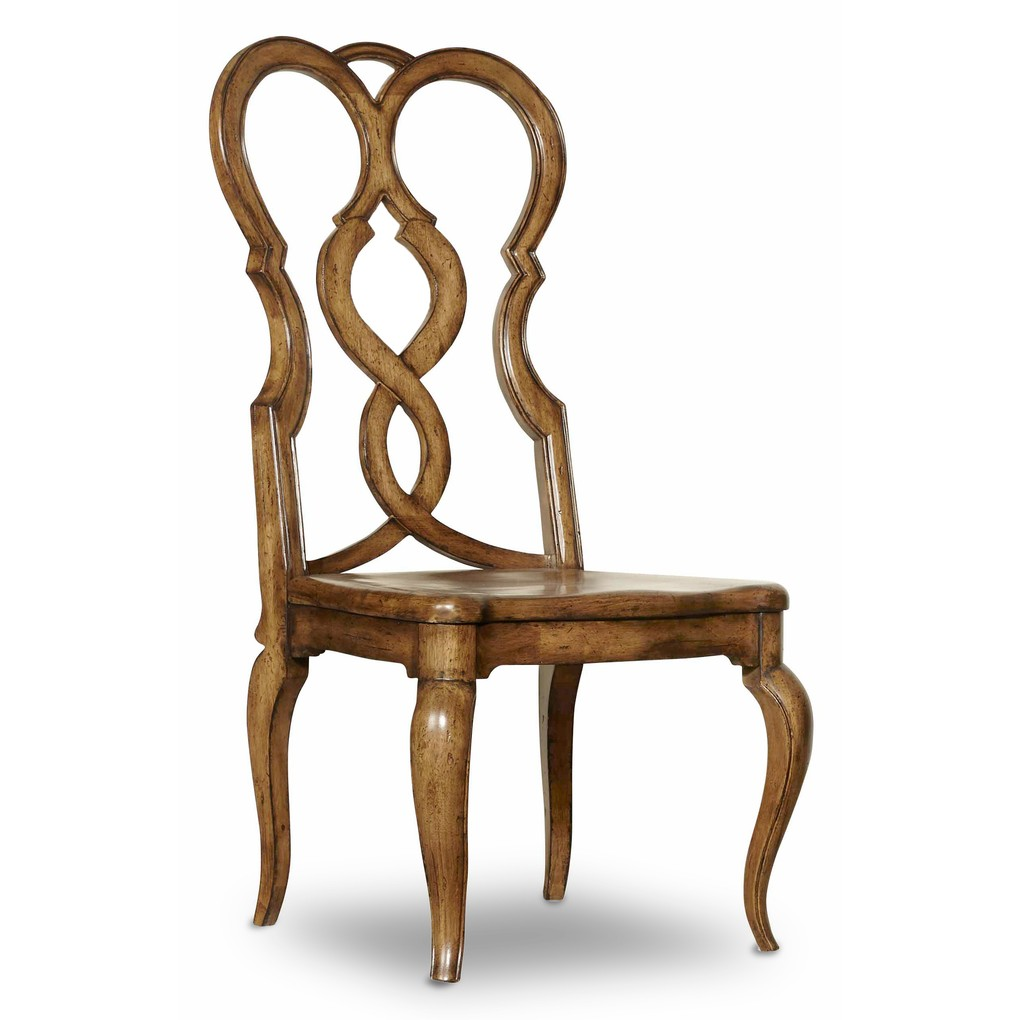 Auberose Splatback Side Chair   Hooker Furniture