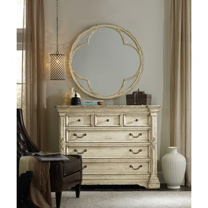 Auberose Round Mirror | Hooker Furniture