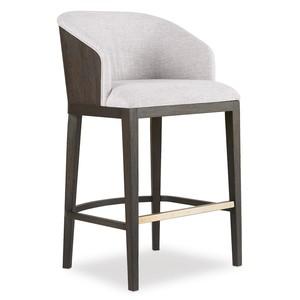 Curata Upholstered Barstool