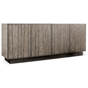 Curata Entertainment Console | Hooker Furniture