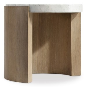 Curata Round End Table | Hooker Furniture