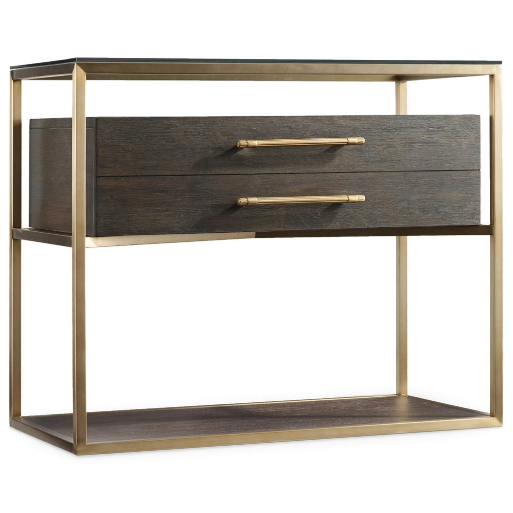 Curata One-Drawer Nightstand   Hooker Furniture