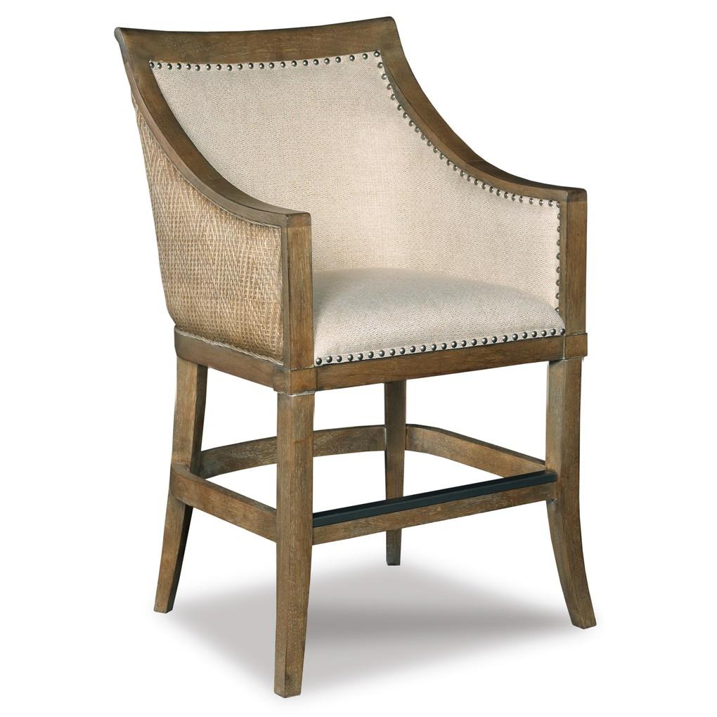 Sea Breeze Counter Stool | Hooker Furniture