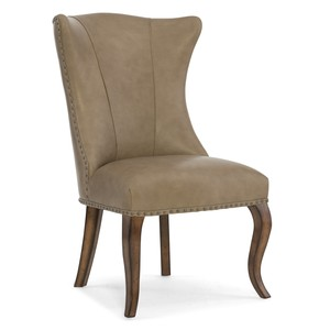 Auberose Leather Dining Chair