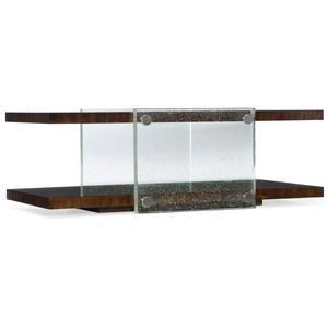 Skyline Bubble Glass Cocktail Table