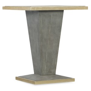 Square Shagreen End Table