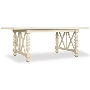 Sandcastle Rectangle Dining Table | Hooker Furniture