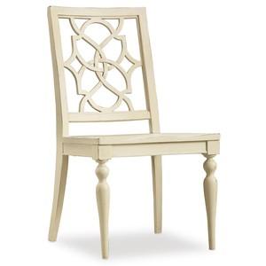 Sandcastle Fretback Side Chair | Hooker Furniture