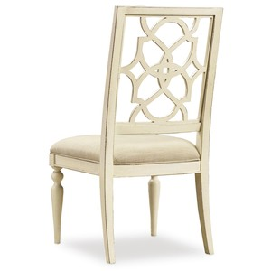Sandcastle Fretback Side Chair | Hooker Furniture