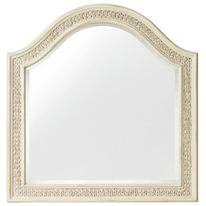 Sandcastle Mirror with Sea Grass | Hooker Furniture
